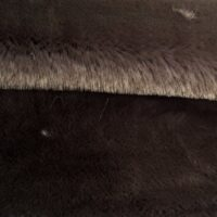 Faux fur by the metre Super soft dark grey mink imitation faux fur fabric – 1550 Dk. Grey
