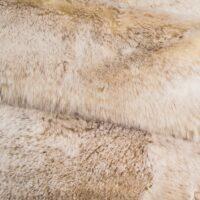 Faux fur by the metre Super soft beige rabbit style faux fur fabric by the metre – 1551 Beige Frost