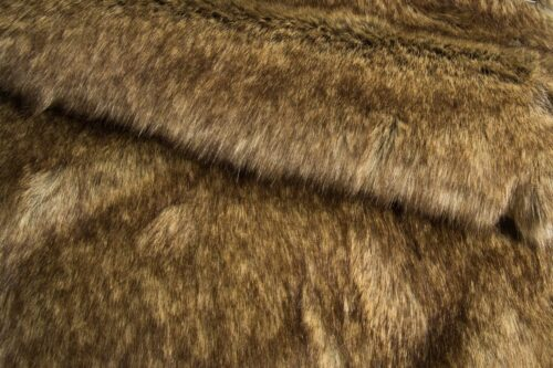 Faux fur by the metre Luxurious grey/beige fox faux fur fabric by the meter – 1552 Grey Beige