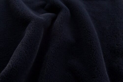 Faux fur by the metre Super soft navy blue faux fur fabric by the metre for lining – 2R338 Navy