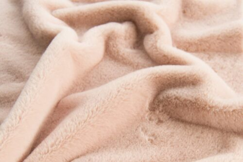 Faux fur by the metre Super soft pink faux fur fabric by the metre for lining – 2R338 Pink