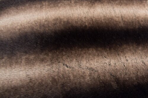 Faux fur by the metre Super soft faux fur fabric by the meter chinchilla brown / Silver – 3011 Brown Silver