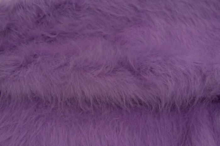 Faux fur by the metre Low Price Heliotrope Purple Longhaired Faux Fur – AC356-Heliotrope