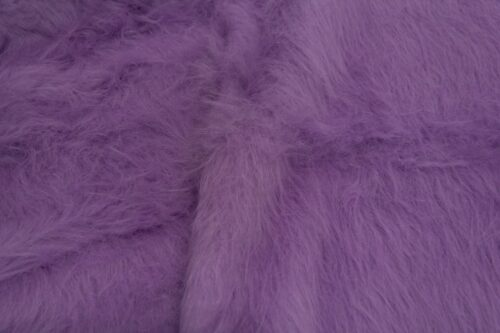 Budget faux fur Low Price Heliotrope Purple Longhaired Faux Fur – AC356-Heliotrope