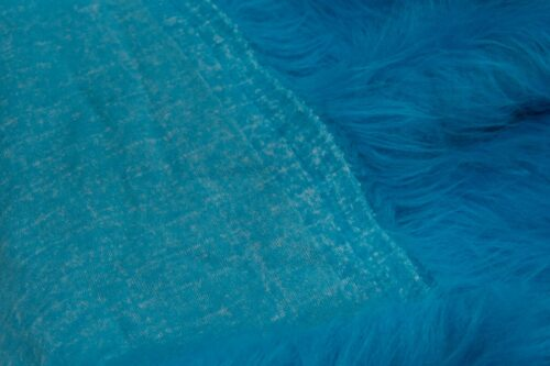 Faux fur by the metre Low Price Light Blue Longhaired Faux Fur – AC356-Blue Mood
