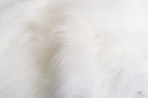 Budget faux fur Low Price White Longhaired Faux Fur – YF360-White