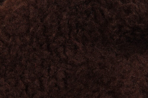 Faux fur by the metre Faux fur fabric sheepskin style for lining, brown – K7/SF-BROWN HA 1052