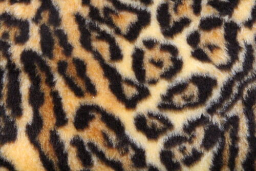 Faux fur by the metre Jaguar faux fur fabric by the meter for disguise, costumes, cosplay – R2/60/3 dessin FG 81/1