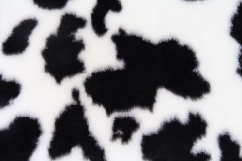 Budget faux fur Cow faux fur fabric by the meter for disguise, costumes, cosplay – YF2/2 100/16