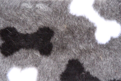 Faux fur by the metre Affordable bones pattern soft faux fur fabric by the meter for pet cushions – R2/60/3 /8mm /LP YF 1150/1 Bones