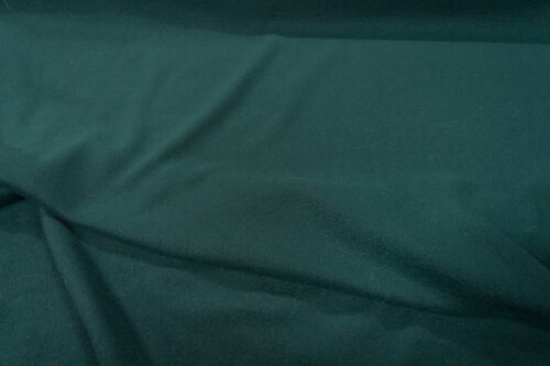 Fleece fabric Plain Dark Bottle Green Lambskin Fleece by the metre, Anti-Pilling – Dark Bottle