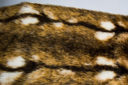 Faux fur by the metre Rabbit faux fur fabric by the meter for disguise, costumes, cosplay – R2/60 YF744/1