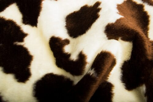Faux fur by the metre Cow faux fur fabric by the meter for disguise, costumes, cosplay – R2/60/2 100/6