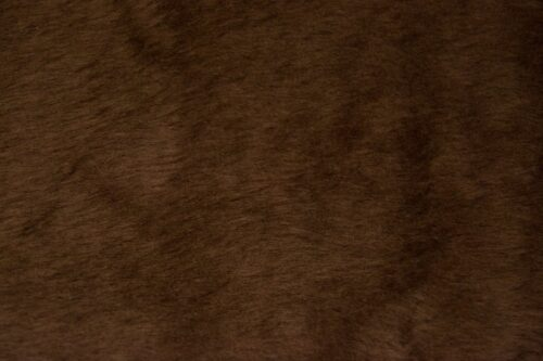 Budget faux fur Low price malt brown faux fur short pile – W1/60-Malt-162