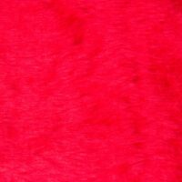 Budget faux fur Low price red faux fur fabric short pile – W1/60-R-Red