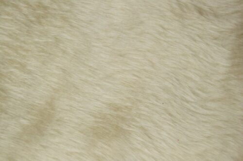 Faux fur by the metre Low price toffee faux fur fabric short pile – W1/60-Toffee