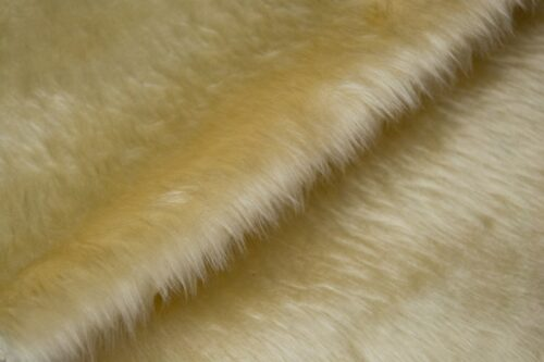 Budget faux fur Low price toffee faux fur fabric short pile – W1/60-Toffee