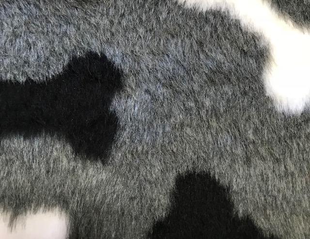 Faux fur by the metre Affordable bones pattern soft faux fur fabric by the meter for pet cushions – R2/60/3 /8mm /LP YF 1150/1 Bones