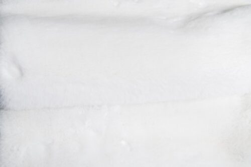 Faux fur by the metre Super soft ice-white rabbit style faux fur fabric – 2R333 S white