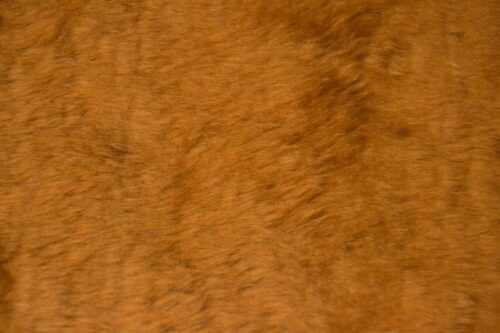 Faux fur by the metre Low price chestnut brown faux fur fabric short pile – W1/60-Chestnut-111