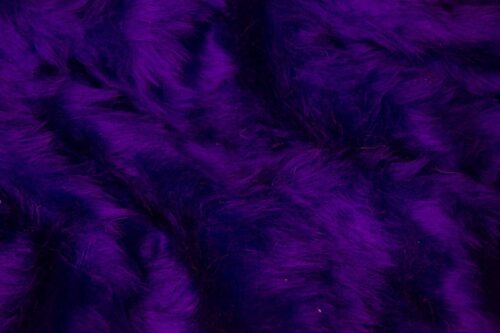 Faux fur by the metre Low price purple faux fur fabric short pile – W1/60-Purple-212