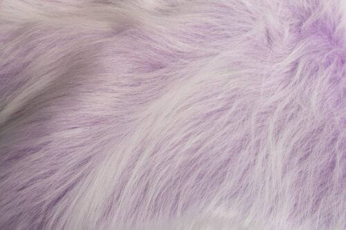 Faux fur by the metre Low Price Heliotrope Purple Frost Longhaired Faux Fur – AC356-Heliotrope Frost