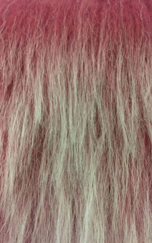 Budget faux fur Low Price Antique Pink Frost Longhaired Faux Fur – AC356-A. Rose Frost