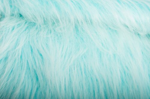 Faux fur by the metre Low Price Peacock Blue Frost Longhaired Faux Fur – AC356-Peacock Frost