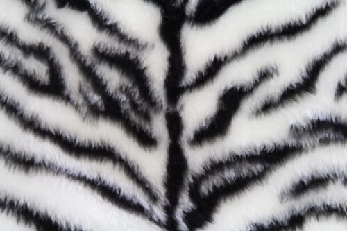 Faux fur by the metre Tiger faux fur fabric by the meter for disguise, costumes, cosplay – R2/60/2 FG791/5 Tiger