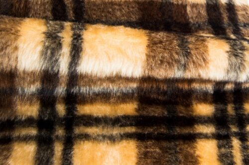 Faux fur by the metre Burberry faux fur fabric by the meter for disguise, costumes, cosplay – R2/60/3 826/1