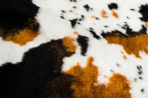 Faux fur by the metre Cow faux fur fabric by the meter for disguise, costumes, cosplay – R2/60/3 FG1115/3 919/1
