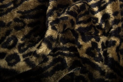 Faux fur by the metre Jaguar faux fur fabric by the meter for disguise, costumes, cosplay – R2/60/3 FG 81/6