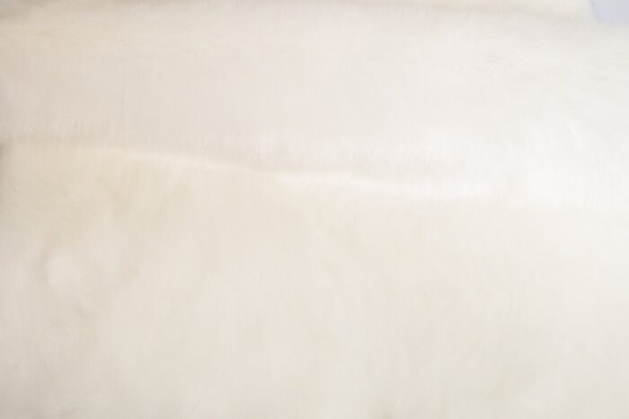Budget faux fur White Faux fur Fabric by the meter super value for money –  YF 286/1 White