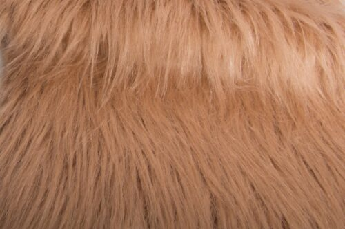 Faux fur by the metre Low Price Taupe Longhaired Faux Fur – AC356-Taupe