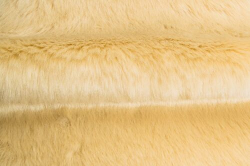 Budget faux fur Beige Faux fur Fabric by the meter super value for money –  YF 286/1 Beige 0906