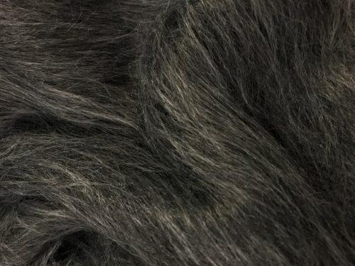 Budget faux fur Low Price Dark Grey Longhaired Faux Fur – AC356-Dark Grey