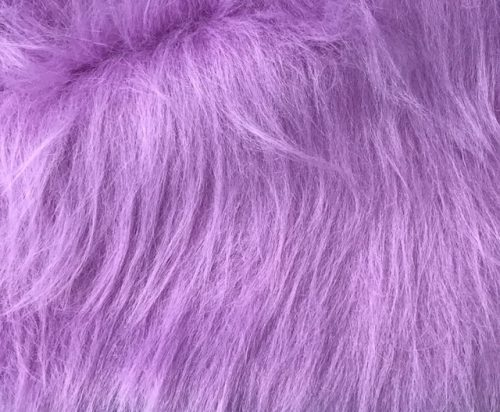 Budget faux fur Low Price Heliotrope Purple Longhaired Faux Fur – AC356-Heliotrope