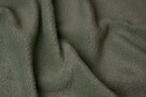 Fleece fabric Plain Avocado Green Lambskin Fleece by the metre, Anti-Pilling – Avocado