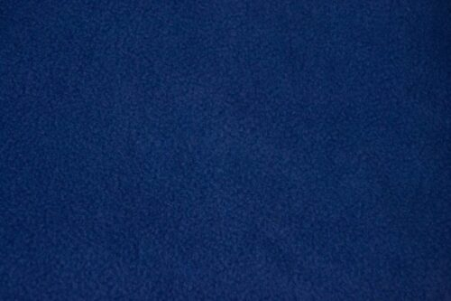 Fleece fabric Plain Denim Blue Lambskin Fleece by the metre, Anti-Pilling – Denim