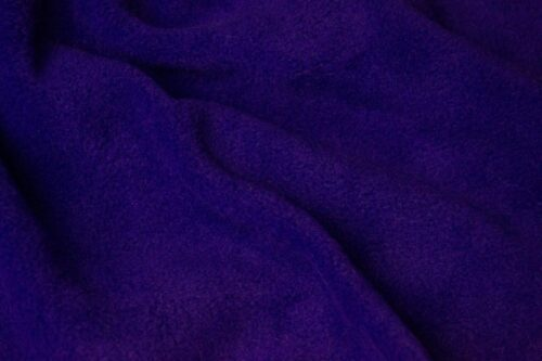 Fleece fabric Plain Purple Lambskin Fleece by the metre, Anti-Pilling – Purple
