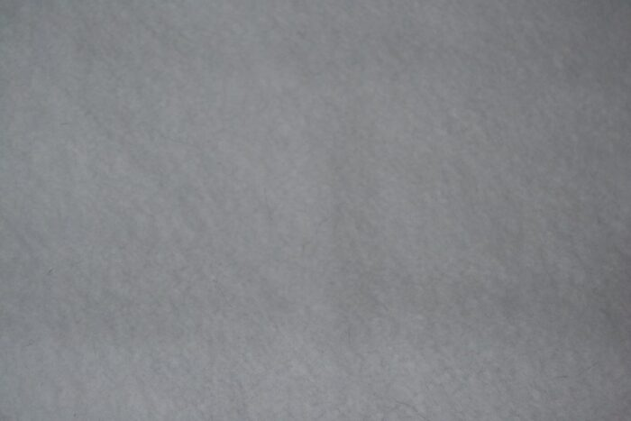 Fleece fabric Plain White Lambskin Fleece by the metre, Anti-Pilling – White