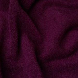Budget faux fur Plain Dark Wine Red Lambskin Fleece by the metre, Anti-Pilling – Wine