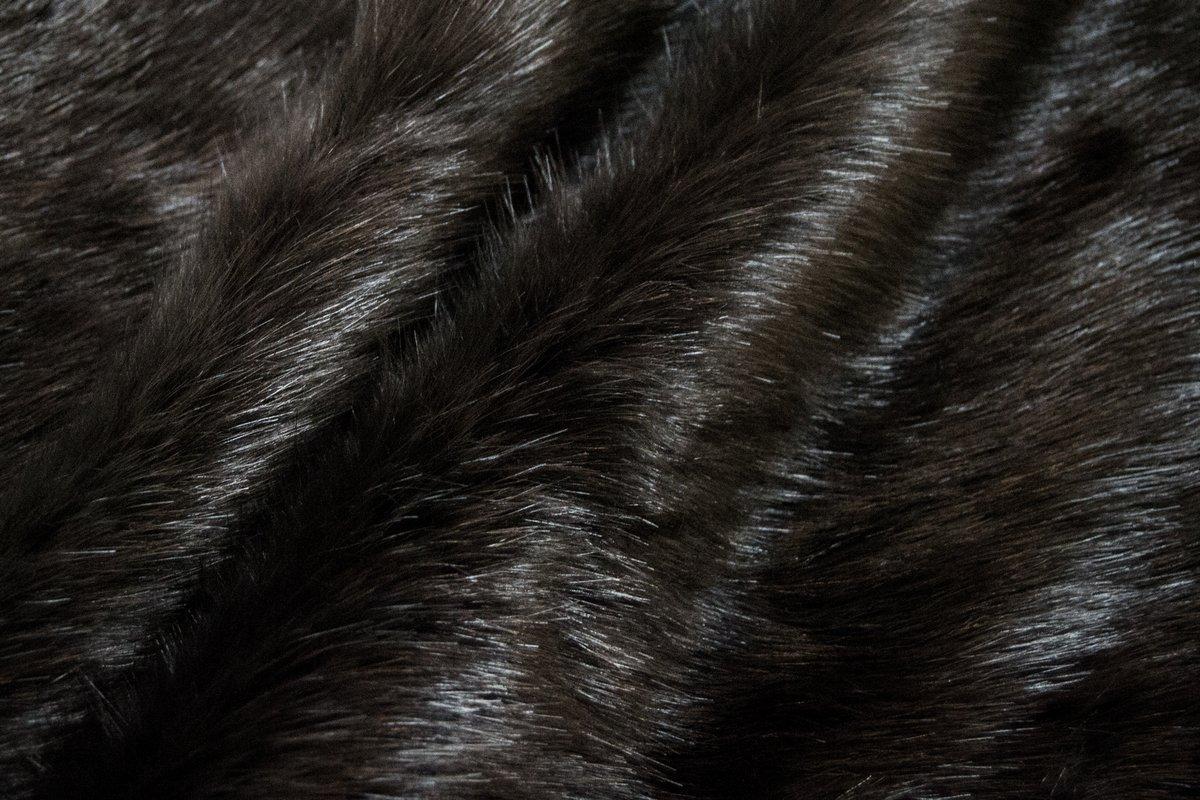 Luxury Quality Charcoal Black Mink