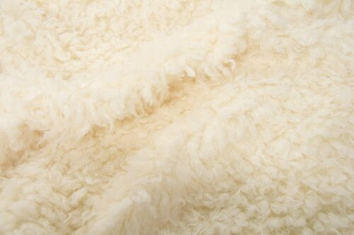 Faux fur by the metre Super Soft Cream Sheep Imitation Faux Fur Fabric By The Metre – 2R293 Cream