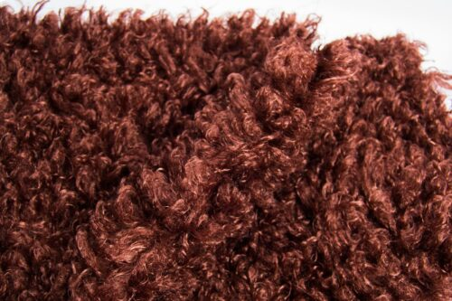 Faux fur by the metre Super Soft Brown Sheep Imitation Faux Fur Fabric By The Metre – 2R293 Chestnut