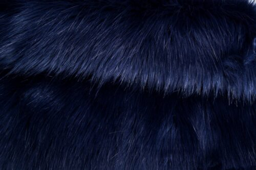 Faux fur by the metre Luxurious long haired purple fox imitation faux fur fabric by the meter – 7552 Purple