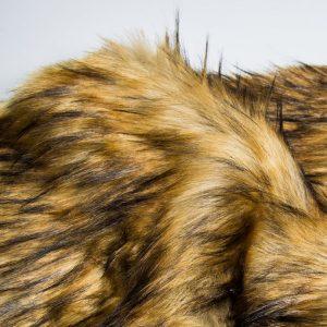Faux fur by the metre Super Soft Fox Imitation Faux Fur Fabric By The Metre – 1575 Grey Beige