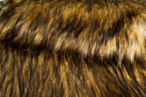 Faux fur by the metre Super Soft Fox Imitation Faux Fur Fabric By The Metre – 1575 Grey Beige