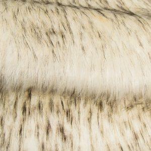 Faux fur by the metre Super Soft Fox Imitation Faux Fur Fabric By The Metre – 1575 White Black