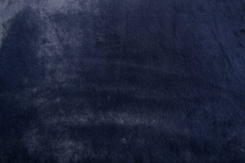 Faux fur by the metre Super soft dark blue rabbit style faux fur fabric – 2R330 Dk. Blue